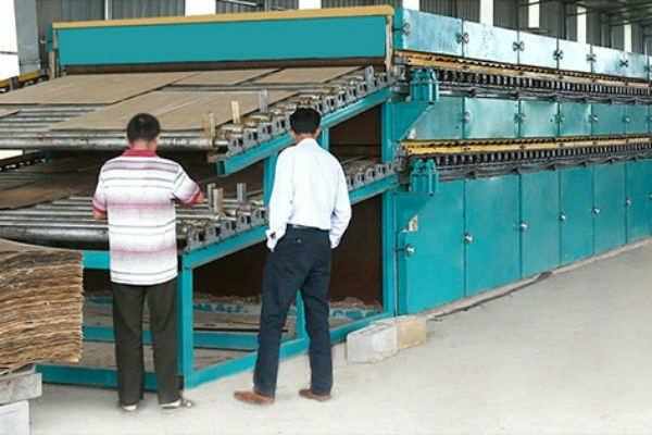 江苏木材单板烘干机